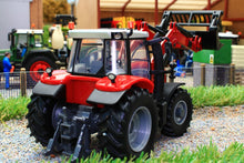 Load image into Gallery viewer, 43082A1 BRITAINS MASSEY FERGUSON 6616 WITH FRONT LOADER