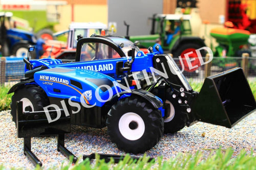 43085A1 Britains New Holland LM7.42 Telehandler with Fork and Bucket