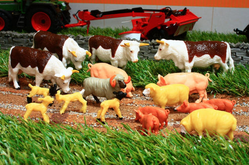 43096A1 BRITAINS MIXED ANIMAL SET