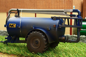 43201 Weathered Britains Nc Slurry Tanker Roadside In Blue Weathered Models (1:32 Scale)