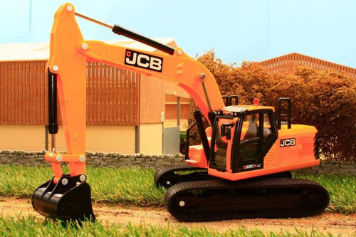 43211 Britains Jcb C220Xlc Excavator Tractors And Machinery (1:32 Scale)