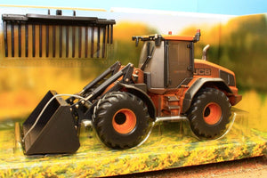 43223 (W) Weathered Britains Jcb 419S Wheeled Loading Shovel Tractors And Machinery (1:32 Scale)