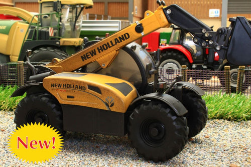 43263(w) WEATHERED Britains New Holland TH 7.42 Telehandler