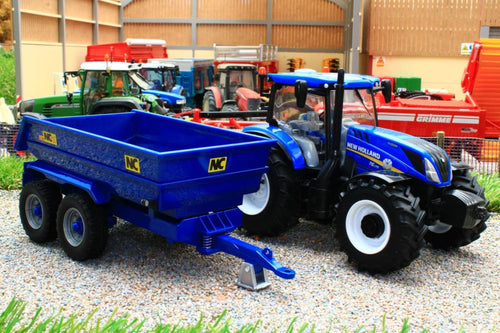 43268 Britains New Holland T6 Tractor with NC Dump Trailer Playset