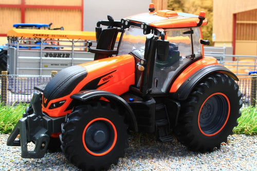 43273 BRITAINS VALTRA TZ54 TRACTOR IN METALLIC ORANGE