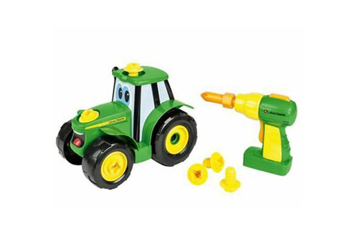 46655 BRITAINS JOHN DEERE BUILD A JOHNNY TRACTOR SET