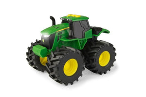 46656 BRITAINS MONSTER TREADS JOHN DEERE TRACTOR WITH LIGHT AND SOUND