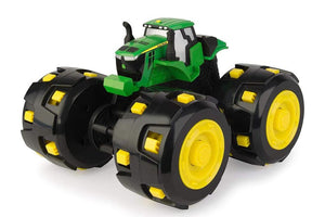 46712 BRITAINS MONSTER TREADS JOHN DEERE TRACTOR WITH EXTREME TRACKS