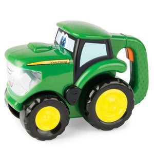 47216 BRITAINS JOHN DEERE JOHNNY TRACTOR + FLASHLIGHT