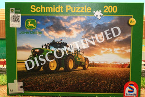 56145 SCHMIDT JIGSAW PUZZLE JOHN DEERE TRACTOR WITH TRAILED CROP SPRAYER 200 PCE