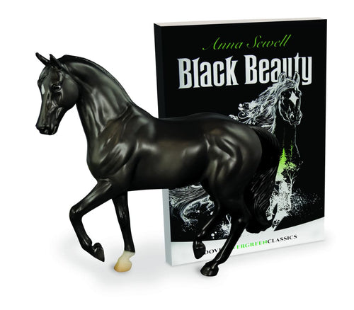 BR6178 Breyer Black Beauty and Book Set (1:12 scale)