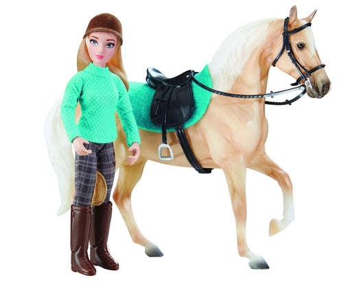 BR62022 Breyer English Rider - Heather, Saddle and Saddle Cloth (1:12 Scale)