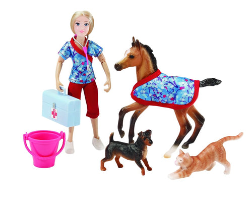 BR62028 Breyer A Day at the Vets (1:12 scale)
