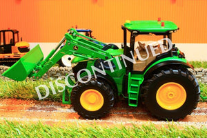 6777 Siku 1:32 Scale Radio Control John Deere Tractor With Front Loader Models