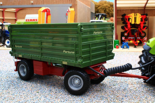 6781 Siku 1:32 Scale Radio Control Fortuna 2 sided Tipping Trailer