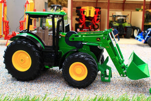 6792 Siku Remote Control Bluetooth John Deere 7310R with loader