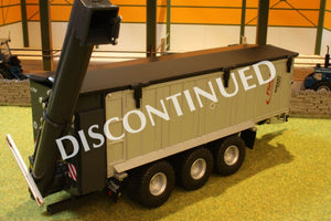 W7317 Wiking Fliegl Asw 391 Trailer With Overhead Loading Auger Tractors And Machinery (1:32 Scale)