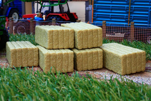 W7394 Wiking Square Bales X 6 Farming Accessories And Diorama Dept