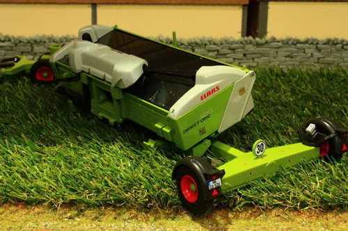 W7825 WIKING CLAAS DIRECT DISC CUTTING HEADER FOR WIKING CLAAS FORAGER WITH HEADER TRAILER