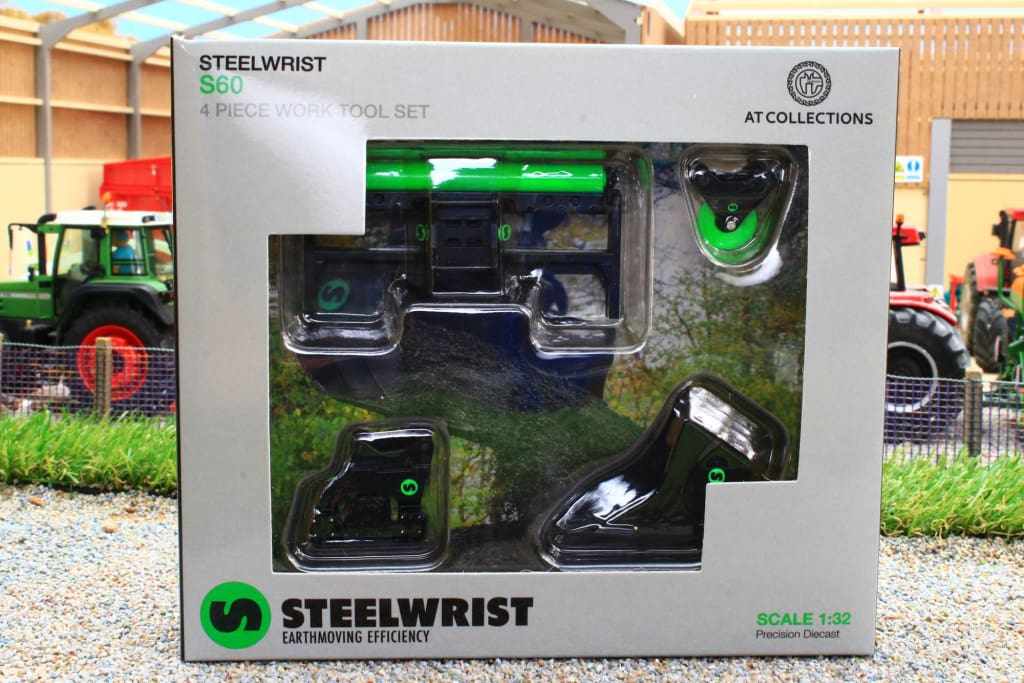 AT3200109 AT COLLLECTIONS STEELWRIST S60 4 PIECE WORK TOOL SET