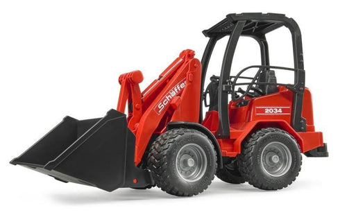 B02190 Bruder Schaffer Compact Loader Tractors And Machinery (1:16 Scale)
