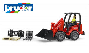 B02191 Bruder Schaffer Compact Loader with Accessories