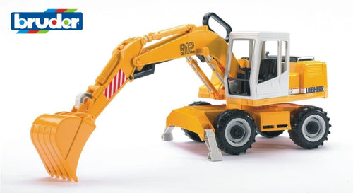 B02426 Bruder Liebherr 912 Wheeled Excavator Tractors And Machinery (1:16 Scale)