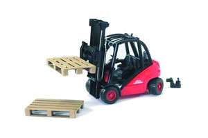 B02511 Bruder Linde Fork Lift H30D with 2 Pallets