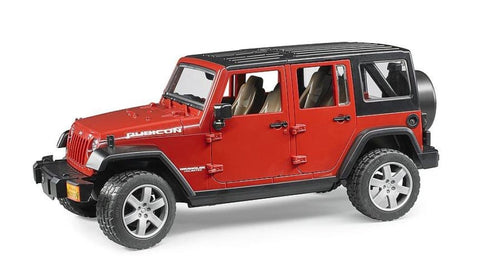 B02525 BRUDER JEEP WRANGLER UNLIMITED RUBICON - RED