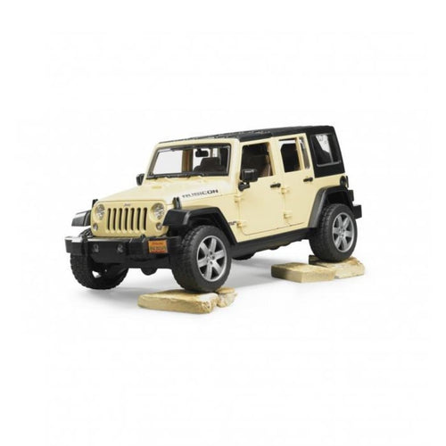 B02525 BRUDER JEEP WRANGLER UNLIMITED RUBICON