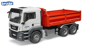 B03765 BRUDER MAN TGS CONSTRUCTION TRUCK