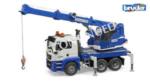 B03770 BRUDER MAN TGS CRANE + LIGHT AND SOUND