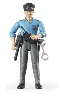 B60050 BRUDER POLICEMAN WITH ACCESSORIES