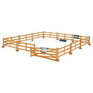 B62604 Bruder Pasture Fence - Brown