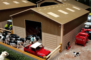 Bb9200 Cow House - Small Brushwood Basics Farm Buildings & Stables (1:32 Scale)