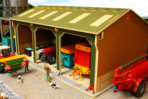 Brushwood Big Basics 3 Bay Open Barn – Image 1