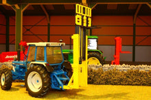 Load image into Gallery viewer, Bev009 Bevro Forklift Attachment In Yellow Tractors And Machinery (1:32 Scale)