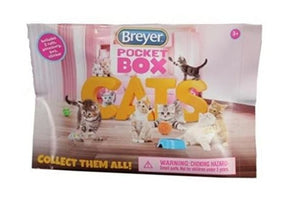 BR1586 Breyer 'Pocket Box' Cats