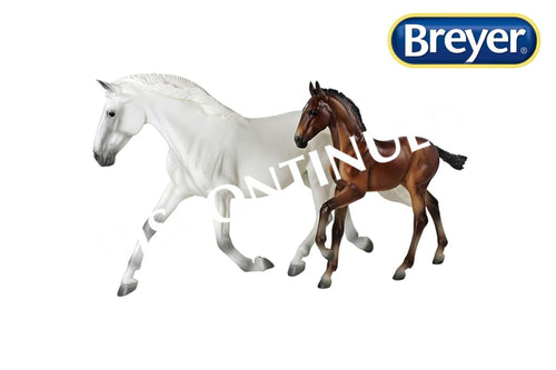 BR1777 Breyer Traditional Spirit of the Horse Fantasia Del C and Gozosa SCS (1:9 scale)