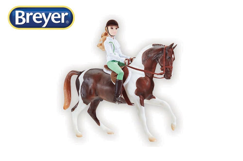 BR1787 Breyer Traditional Spirit of the Horse Lets Go Riding (1:9 scale)