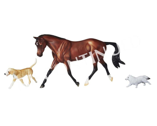 BR1807 Breyer Working Hunter Protocol - Gift Set