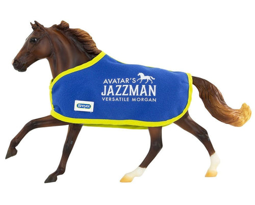 BR1826 AVATARS JAZZMAN DRESSAGE HORSE TRADITIONAL SERIES
