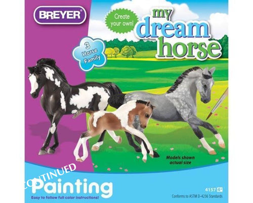 BR4157 HORSE FAMILY PAINTING KIT - ARTS & CRAFTS