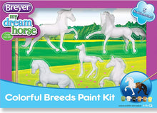 Load image into Gallery viewer, BR4198 COLOURFUL BREEDS PAINTING KIT - ARTS & CRAFTS
