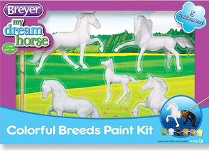 BR4198 COLOURFUL BREEDS PAINTING KIT - ARTS & CRAFTS