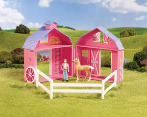 BR5370 HORSE CRAZY POCKET BARN - STABLEMATES
