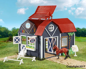 BR59212 Breyer Stablemates Riding Camp (1:32 Scale)