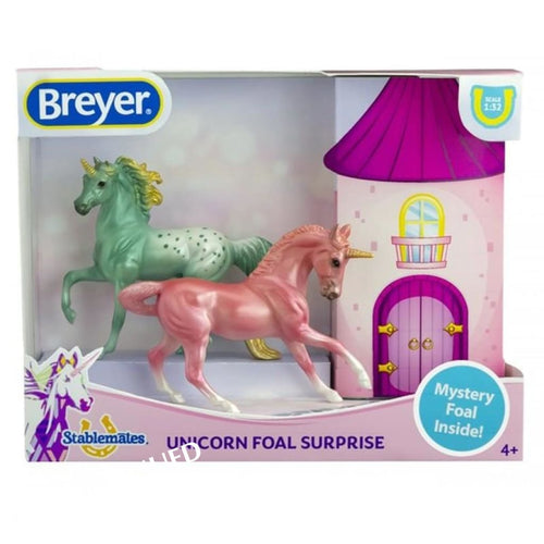 BR6052 MYSTERY UNICORN FOAL SURPRISE - STABLEMATES