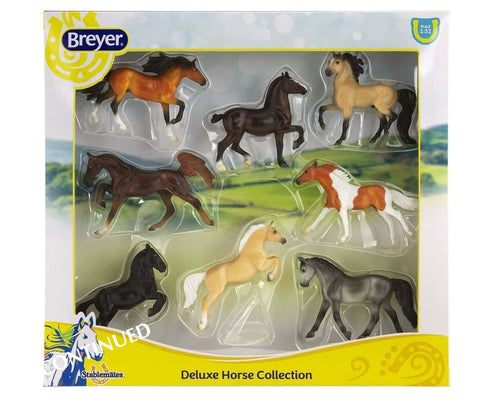 BR6058 STABLEMATES DELUXE COLLECTION (ASSORTMENT OF 8 HORSES)