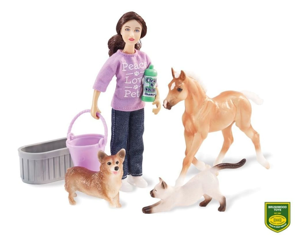 BR61024 Breyer Classic - Pet Groomer Set (1:12 scale)